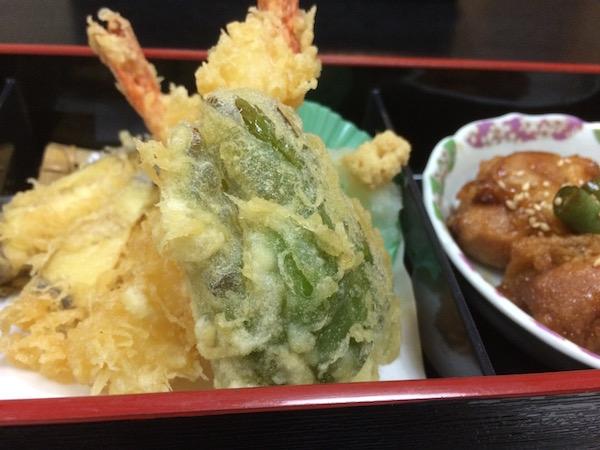 天ぷら、美味かったな〜