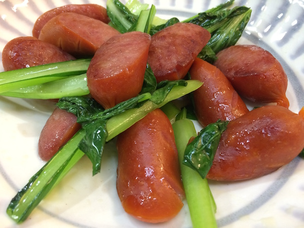 小松菜美味いわ〜