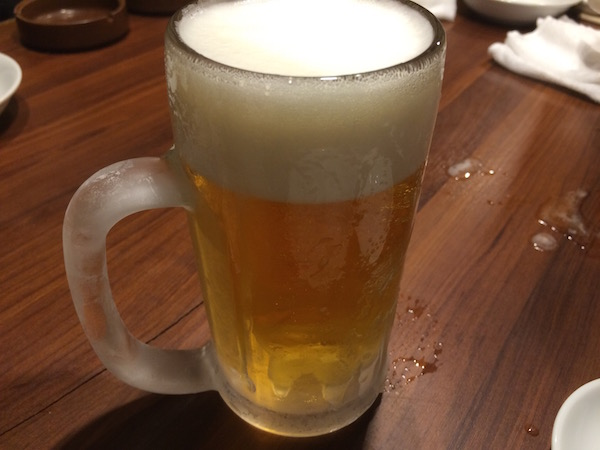 ビールキンキンの図