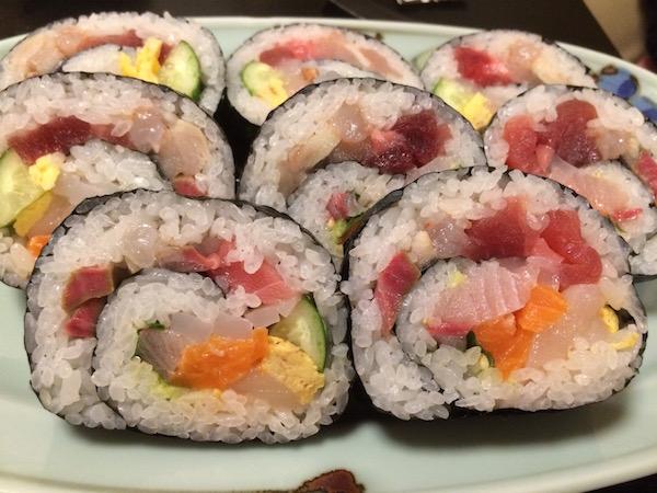 お寿司の万華鏡や〜w