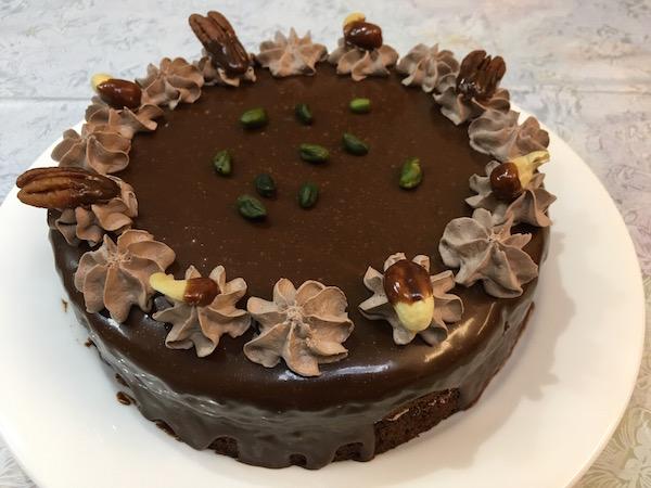 ケーキはムースケドン自作