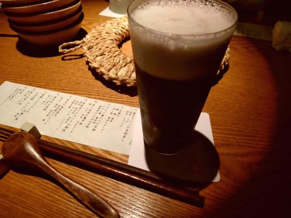オイラが注文した葡萄ビールは人気急上昇