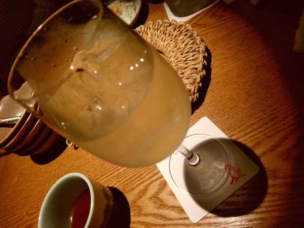 日本酒のサングリアとか