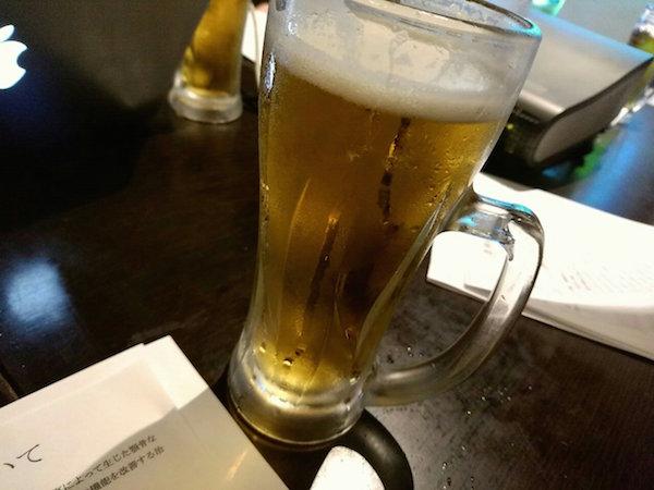 ビールを流し込みながらお勉強