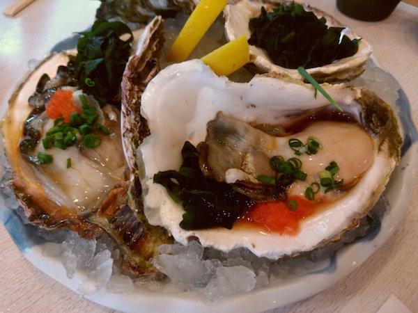 牡蠣、ウマかったっす