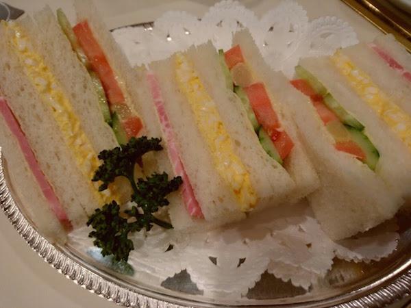 普通の普通のサンドイッチ