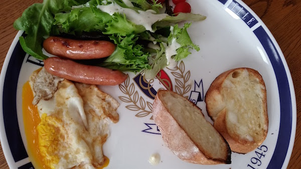卵料理を失敗しw