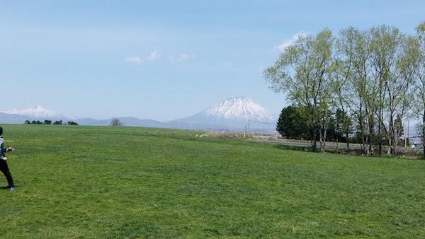 羊蹄山が綺麗