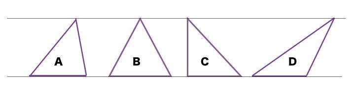 どんな三角形でも同じでっせ