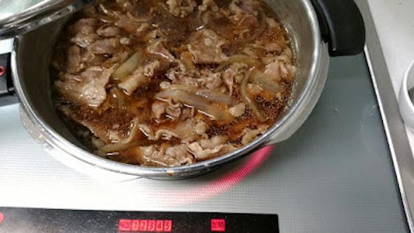 明日の朝食は牛丼だ!!