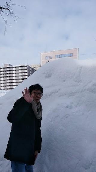 サッポロ、雪すごい