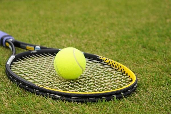 あくまで草テニスですので