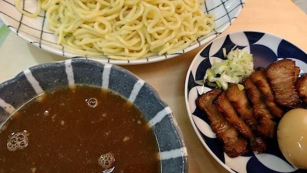 暑いんで「つけ麺」にしました