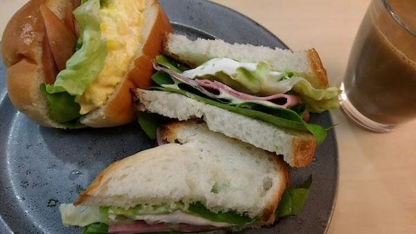 マスカルポーネのサンドイッチが好きです