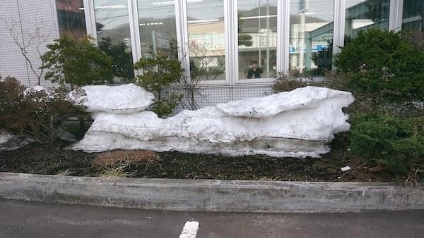 土日雪マーク
