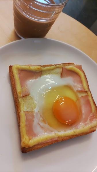 卵かけトースト